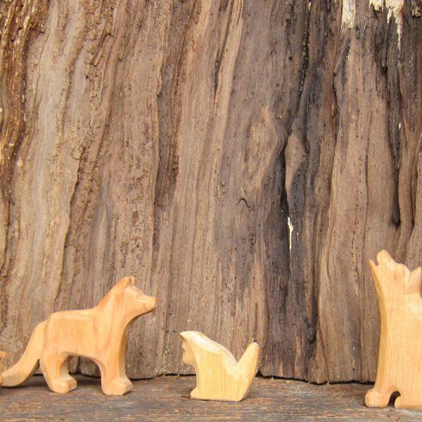 Neue Holztiere im Sortiment